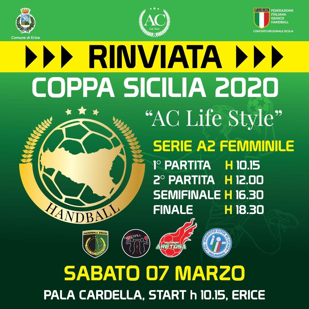 Coppa Sicilia Rinviata